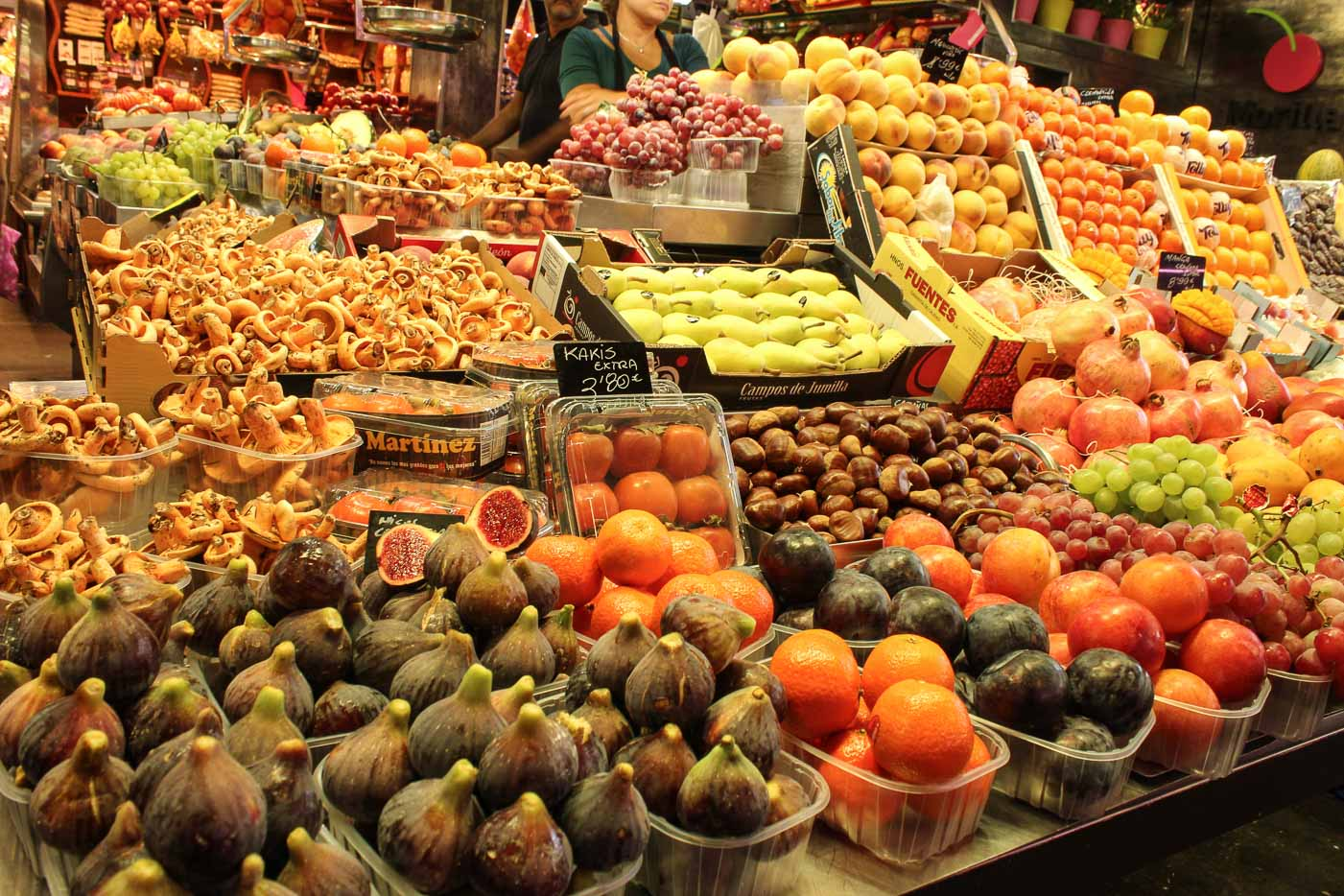 Why you should not miss La Boqueria market in Barcelona