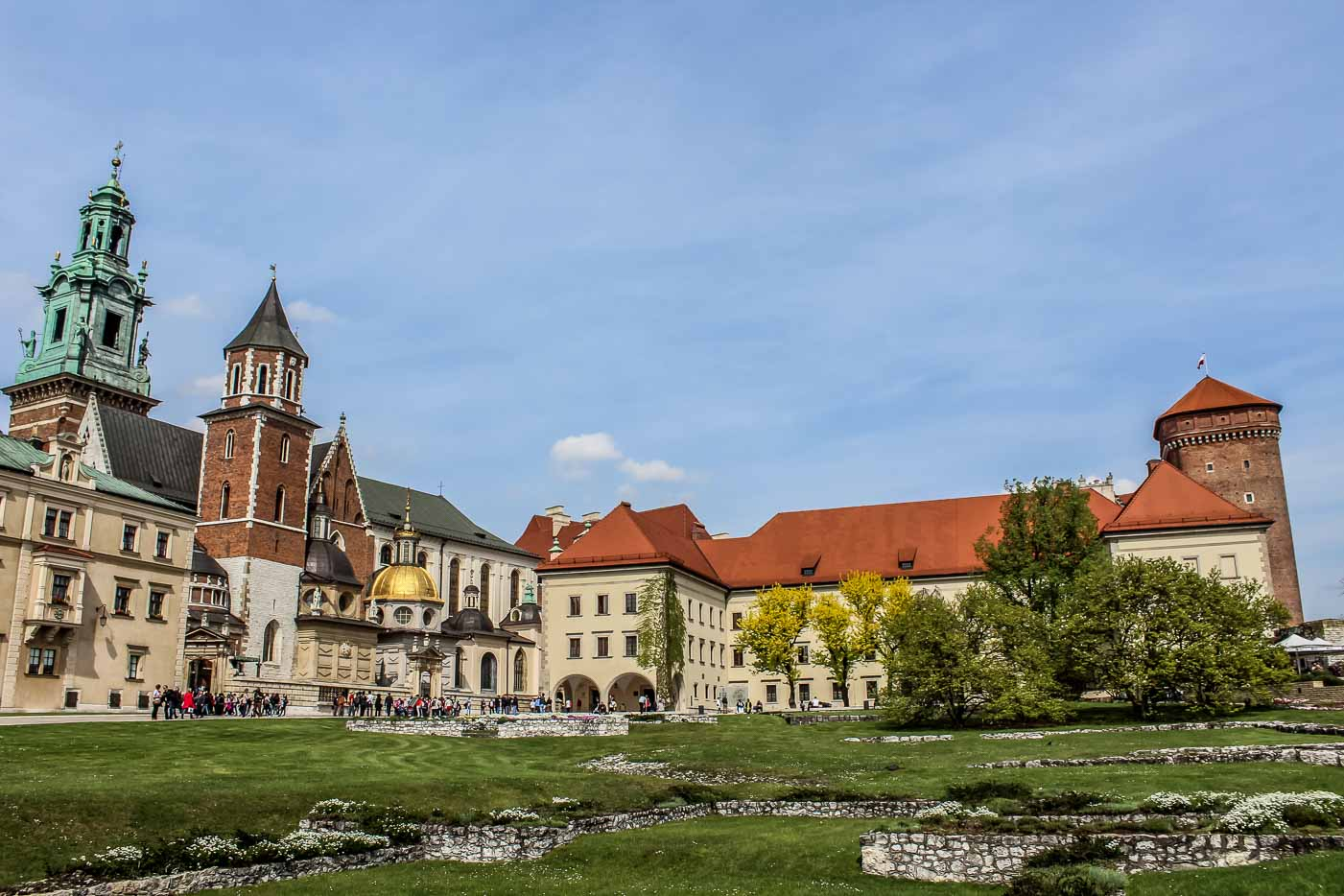 Walking in the footsteps of Polish Kings in Wavel Castle, Krakow