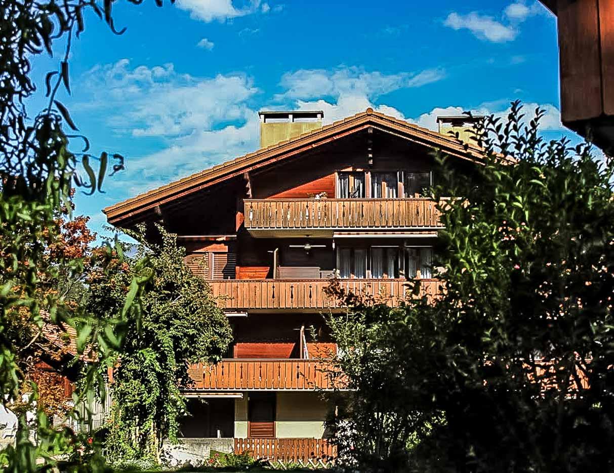 The charming village of Wilderswil in Interlaken