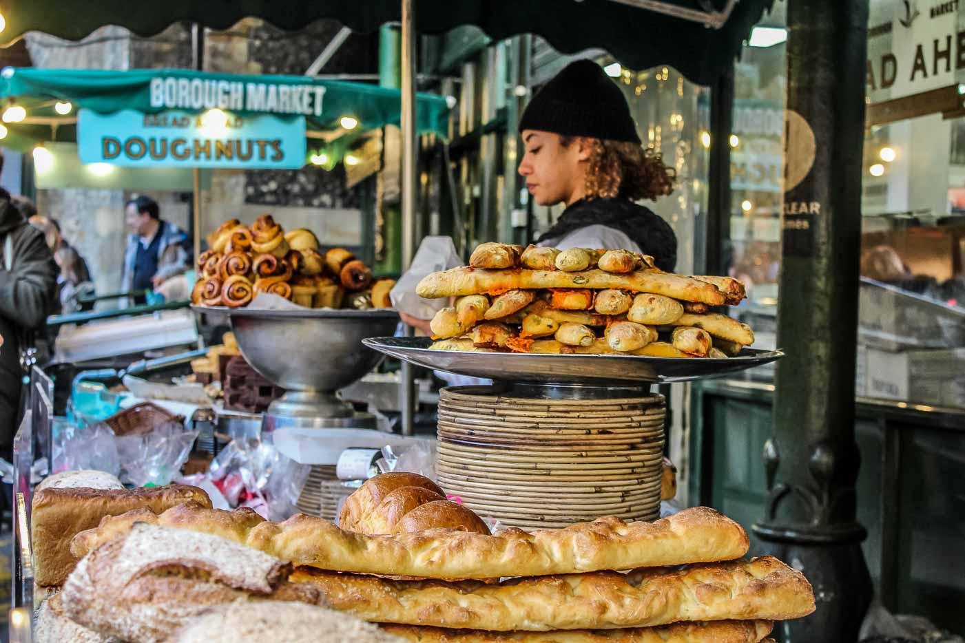 Visiting London's oldest fresh food market: Borough market