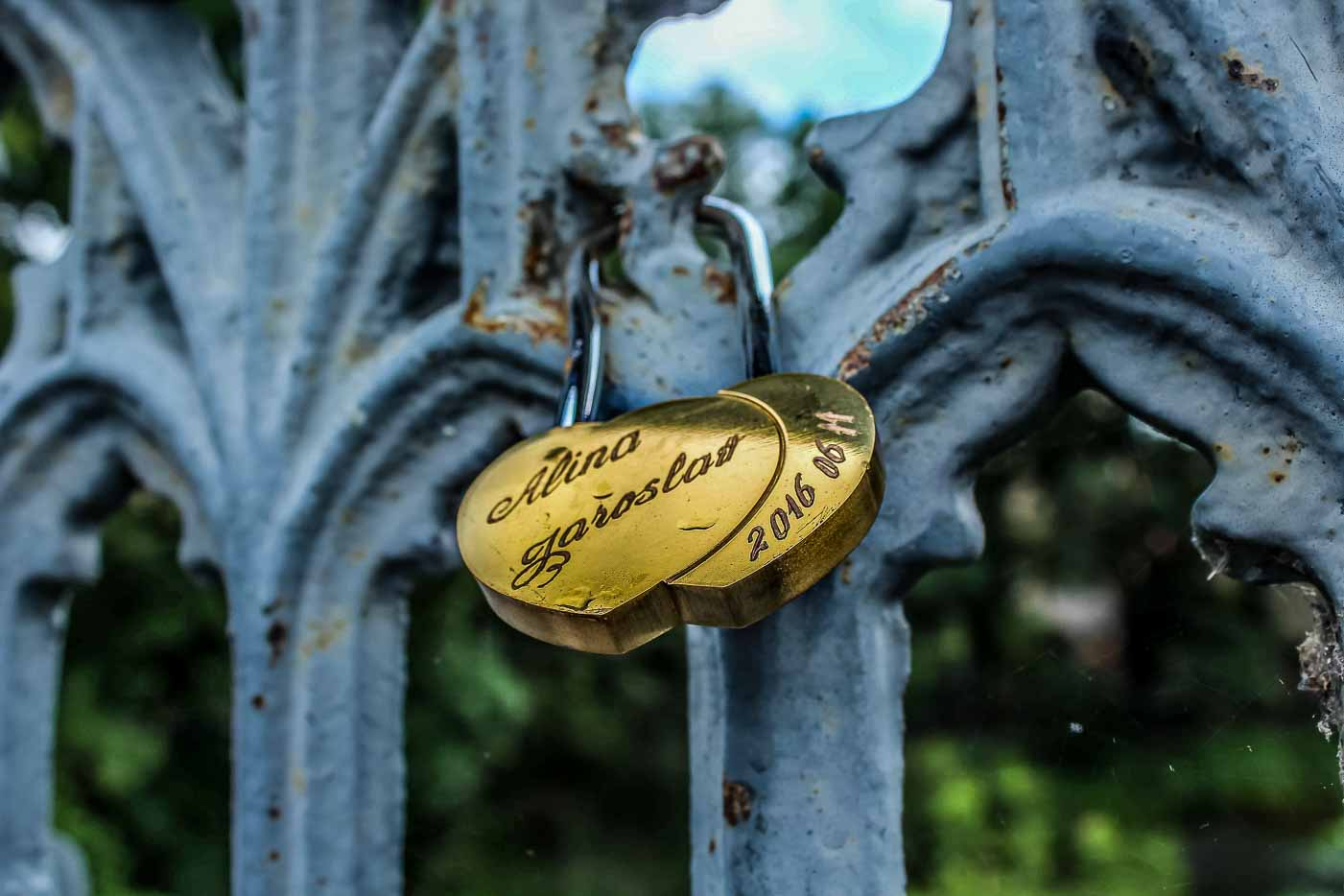 Celebrating the day of Love with Lovelocks