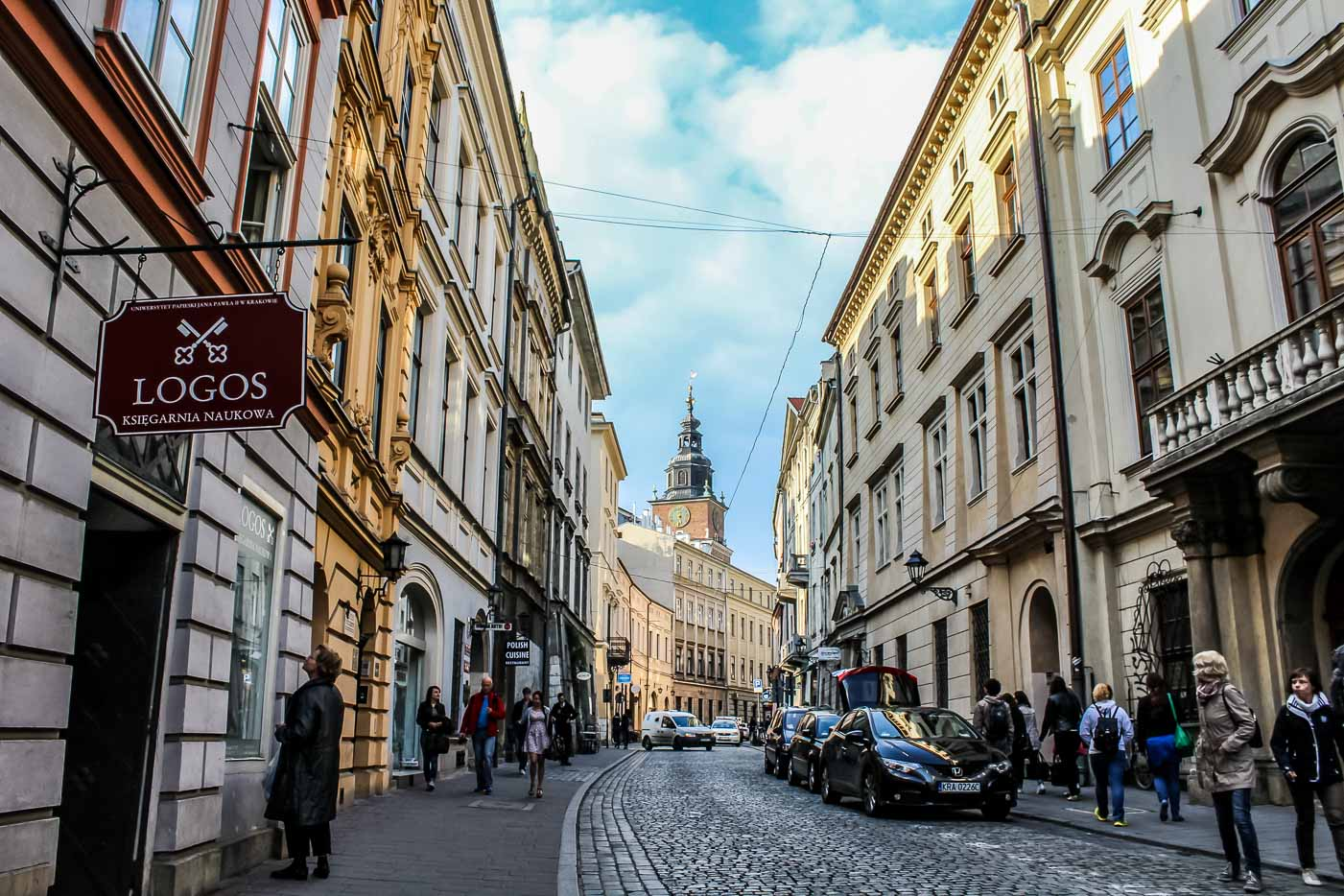 Self-guided walking tour of Old Town Krakow