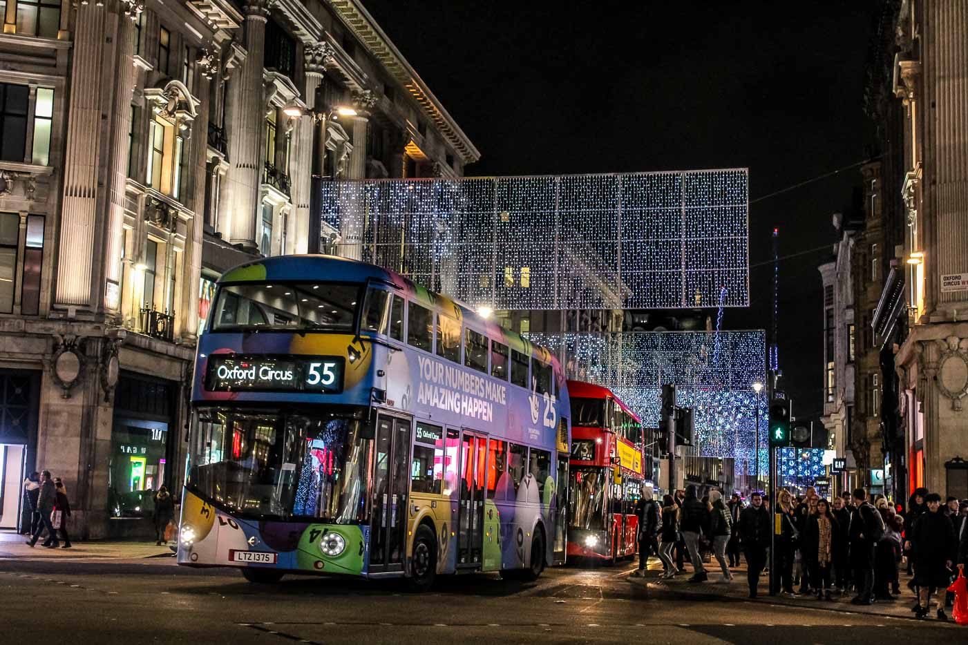Where to see Christmas lights in London's West End?