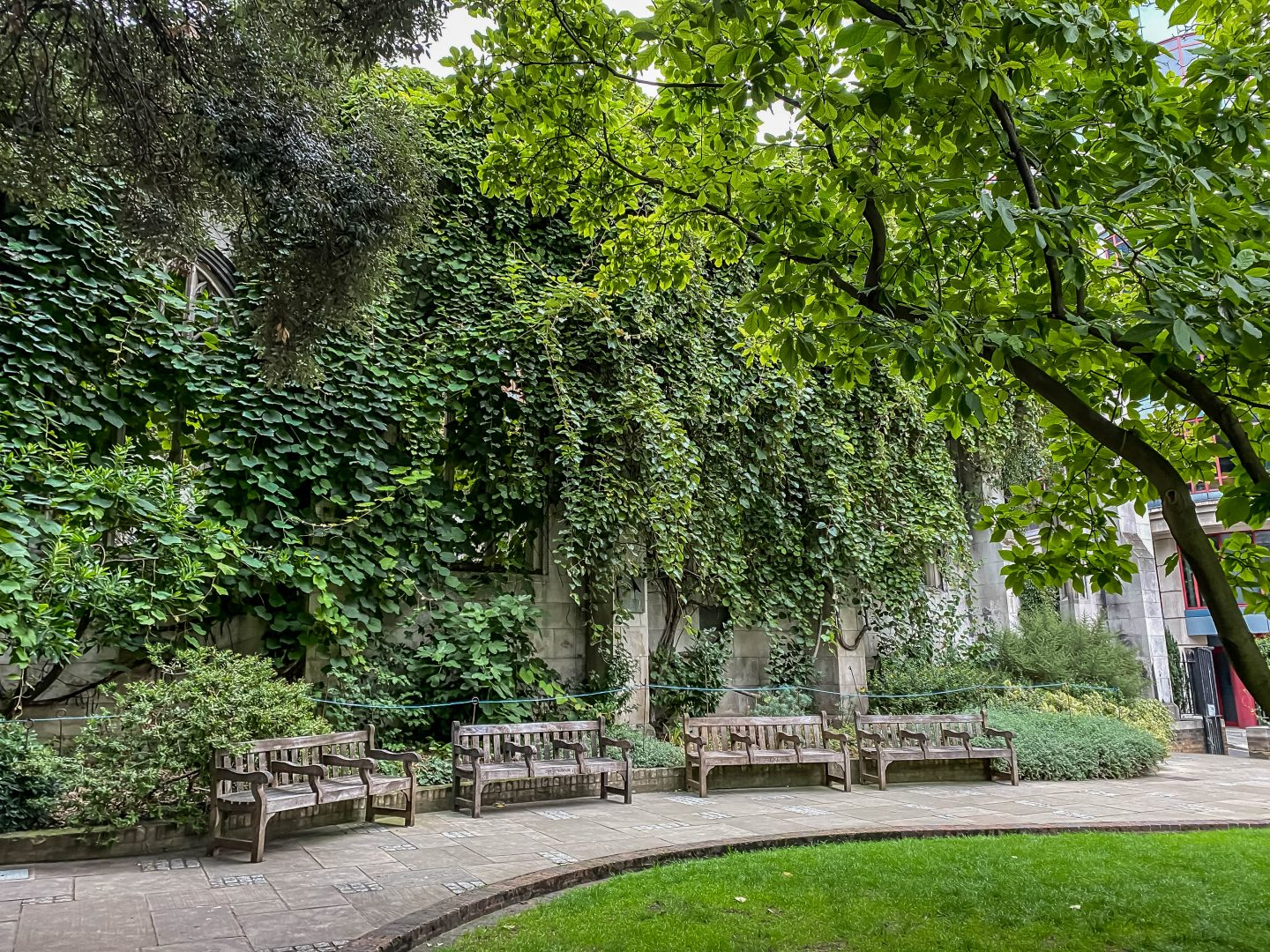 Explore the hidden ruins of St Dunstan-in-the-East in London