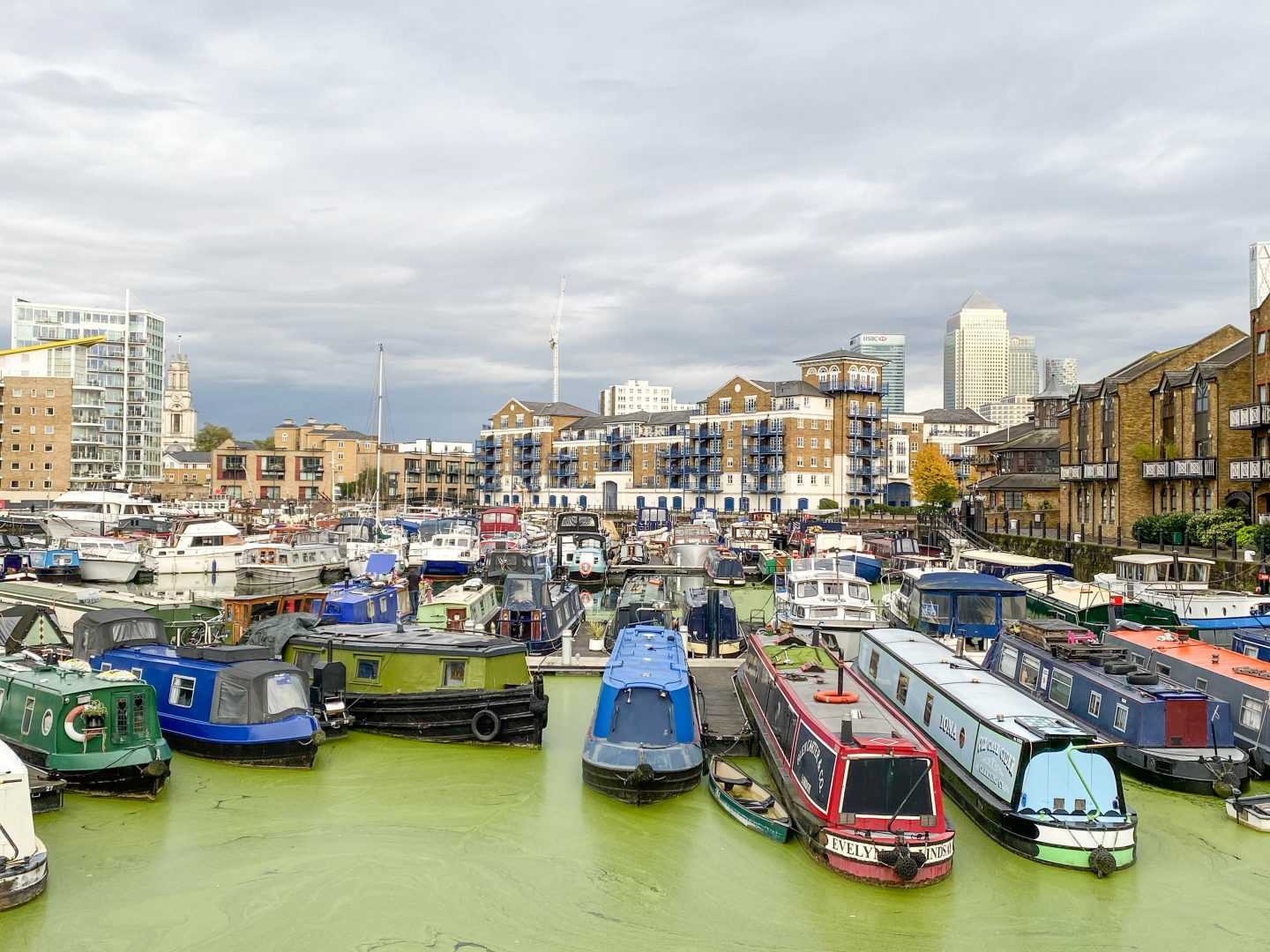 Guide to a walk in Limehouse